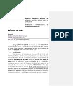 Declaracion Juarada de Domicilio