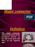 15- Major and Minor Connector