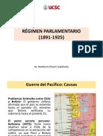 Régimen Parlamentario (1891-1925)