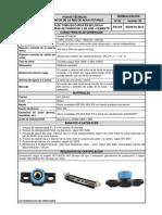 FT 63 Collar de Toma en Carga Sobre Tuberías de Fundición y de Asbesto - Cemento (v. 02)