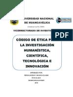 Codigo Etica Unh 2019_28!03!19