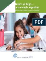 El futuro ya llegó…pero no a la escuela argentina 2016 - Aguerrondo y Tiramonti.pdf