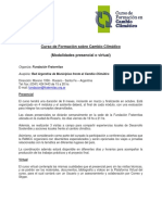 Curso de Formacion sobre Cambio Climatico 2016.pdf