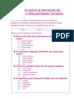 Encuesta sobre la demanda de Artesanía y Manualidades Variadas.docx