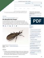 Día Mundial Del Chagas