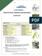 Inspección de Redes Subterráneas Dx-SEG-N-107