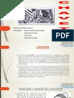 CHAVETAS ELEMENTOS DE MAQUINAS
