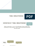 public breastfeeding reviewed