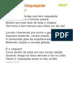 02 Sonhei Que Tava Me Casando - Wesley Safadão (Impressão)
