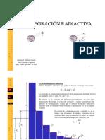 Desintegracion radiactiva 2016