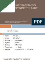 Case Report DAA Appendisitis Akut