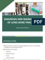 Long Bone Fracture Management - Dr. Iman