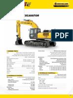 Nhce Hydraulic Excavator e405c Evo