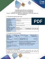 Guía de Actividades y Rúbrica de Evaluación - Tarea 3 - Fundamentos Inducción Electromagnética