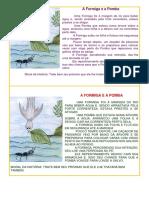 A Formiga e a Pomba