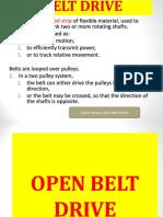 a new modern belt drive transmission .ppt