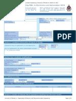 EA Application Form 2019