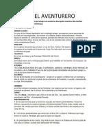 Odiseo El Aventurero libreto