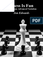 Chess is Fun Caro Kann Advanced Variation - Jon Edwards