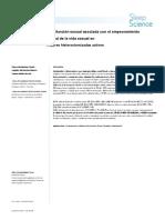 Insomnio y Disfuncion Sexual Asociada a Mala Cv - Histerectomizadas.en.Es