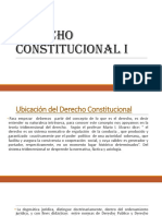 Derecho Constitucional I.