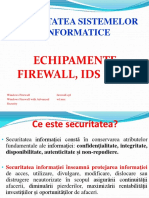 Firewall - Curs Securitate Spiru Haret