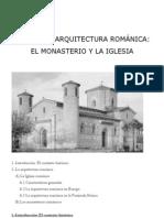 6.Arquitectura románica.El monasterio y la iglesia