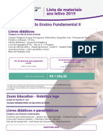 6º Ano Ensino Fundamental 2019