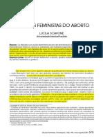politicas feministas de aborto