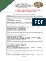 Guía de Práctica Pre-profesional Nivel I-1