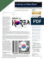 IMB - O Experimento Keynesiano Da Coréia Do Sul Se Torna Global