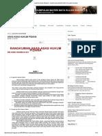 Asas Hukum Pidana Indonesia