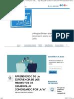 """Abierto Al Público Aprendiendo de La Experiencia de Los Proyectos de Desarrollo_ Comenzando Por La """"a"""" - Abierto Al Público"""