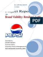 11 Brand Visibility- Retailers' Audit