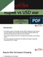 Rupee vs Usd