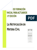 Diapositivas Notificación Civil