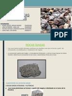 Grupo 1 - Rocas Igneas Intrusivas