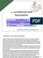 Aluminium Dan Paduannya_Oleh Andi