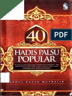 40 Hadis Palsu Popular - kuning popular.pdf