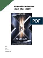 x-men comprehension questions