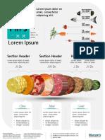 Food Infographics Poster