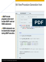 ABAP on SAP HANA – Optimization of Custom ABAP Codes for SAP HANA- Presentation-33