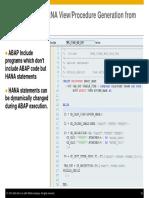 ABAP on SAP HANA – Optimization of Custom ABAP Codes for SAP HANA- Presentation-33