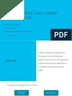 Cisco Webinar - Troubleshooting JABER Phone Services