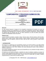 Componentes y Procesos Quimicos Del Cem