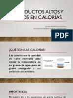PRODUCTOS-ALTOS-Y-BAJOS-EN-CALORÍAS.pptx