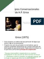 Las Maximas Conversacionales de Grice