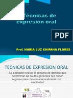 Tecnicas de Expresión Oral