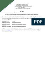 Documento de Ajuste de Inflación