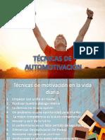 Técnicas De automotivacion